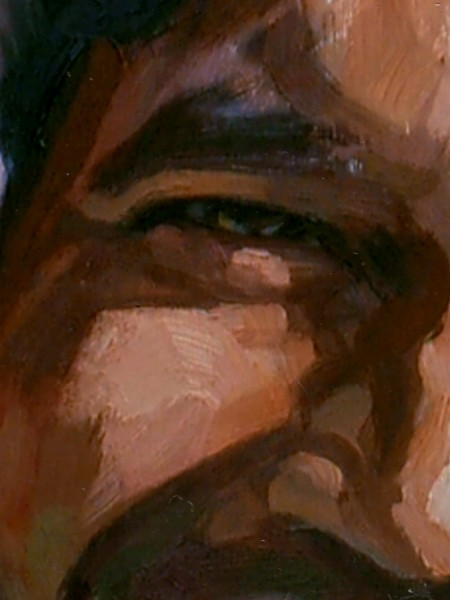 close up of brushwork - click on image to see full view