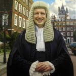 oil painting of andrew A QC