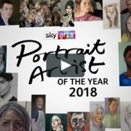 "Watch Jonathan in SkyArts ""Portrait Artist if the year 2018"""